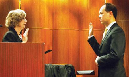 domestic violence criminal docket, Judge Nee