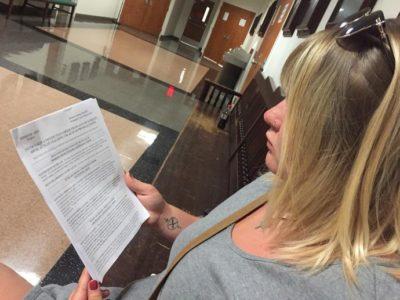 judge accuses domestic violence victim