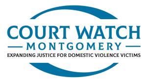 CourtWatch Montgomery Logo